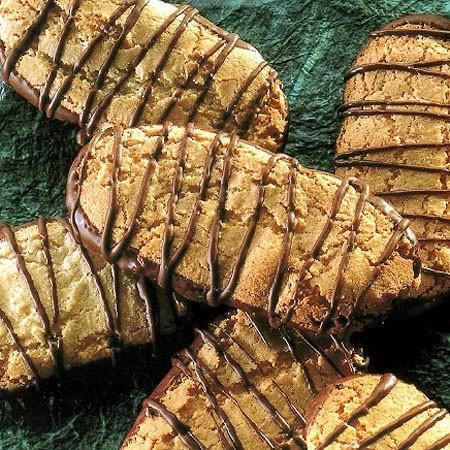 Recette des biscuits aux amandes et chocolat