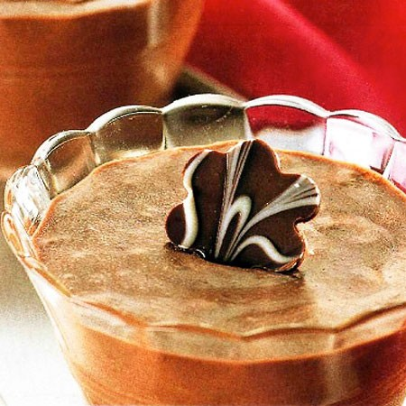 Recette des coupes au chocolat et rhum