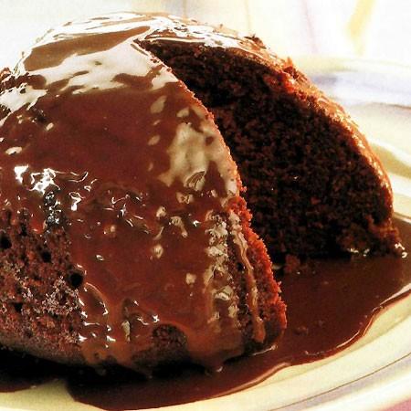 Recette du dôme de pudding glacé au caramel