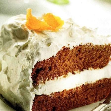 Recette du Gâteau au chocolat et agrumes