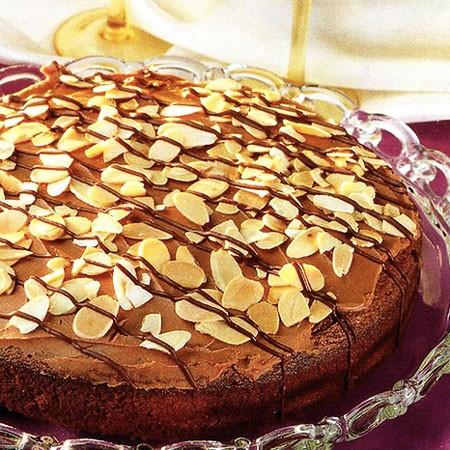 Recette du Gâteau au chocolat et aux amandes