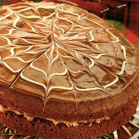 Recette du Gâteau fourré ganache au chocolat blanc