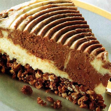 recette du gâteau marbré aux 2 chocolats et yaourt « gâteaux au