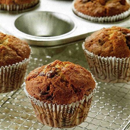 Recette des Muffins aux pépites de chocolat