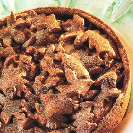 Recette de la Tarte aux pommes et au chocolat