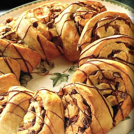 Recette des roulades au chocolat et à l'abricot
