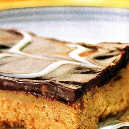 Recette des Sablés au caramel et au chocolat